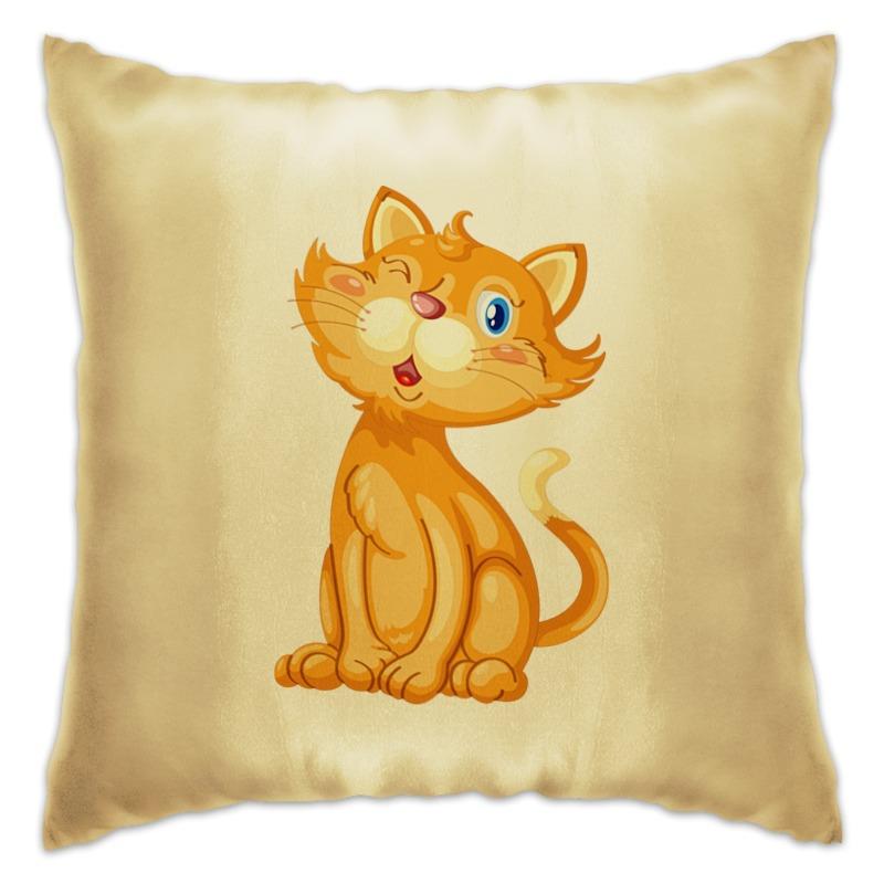 Подушка Printio Рыжий кот