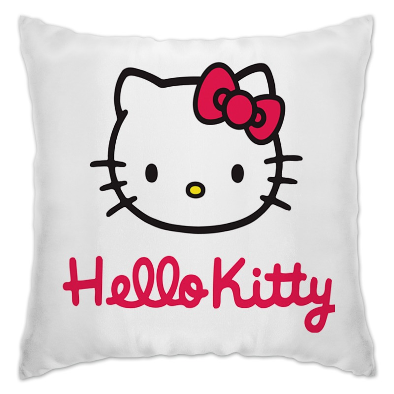 Подушка Printio Hello kitty термокружка hello kitty kittyhello hellokitty