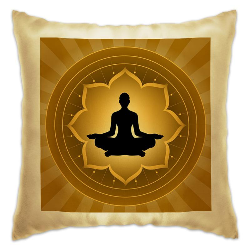 Подушка Printio Yoga