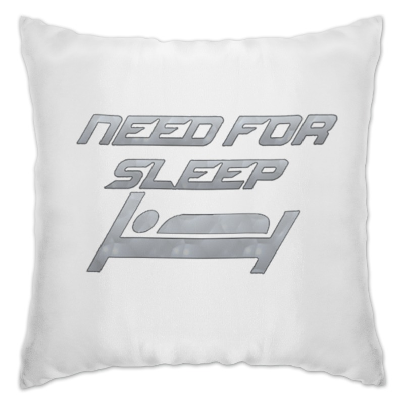 Подушка Printio Need for sleep подушка sleep professor white label love m