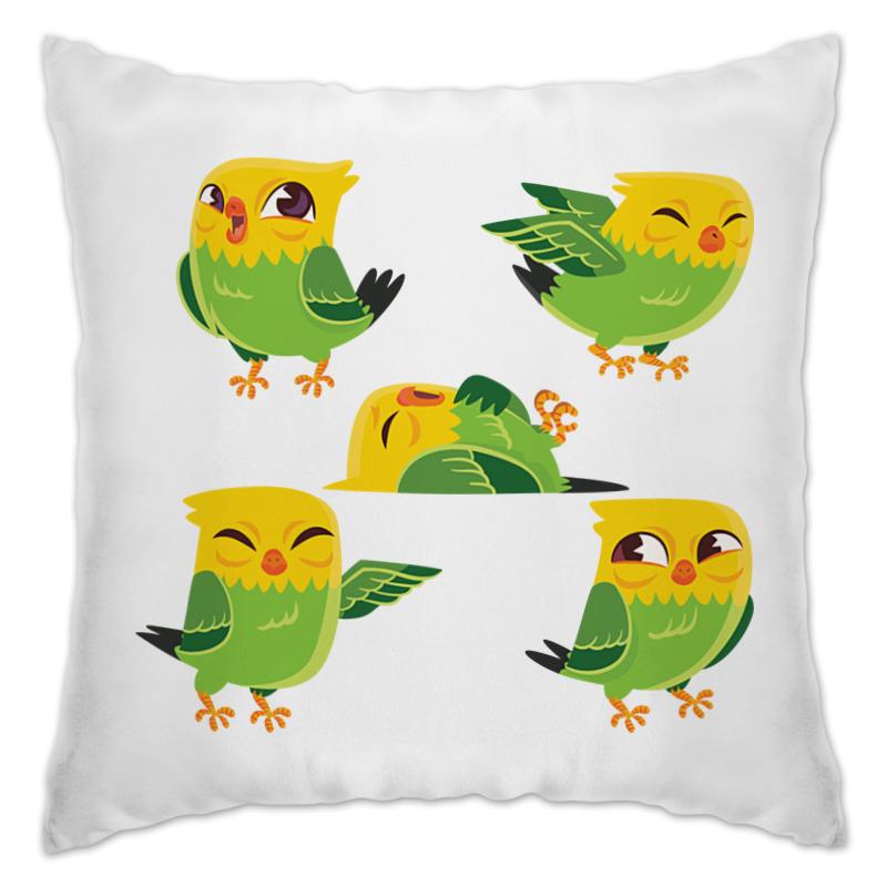 Подушка Printio Птички