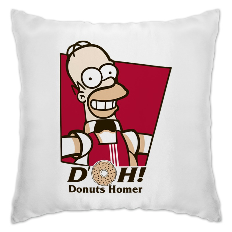 Подушка Printio Donuts homes