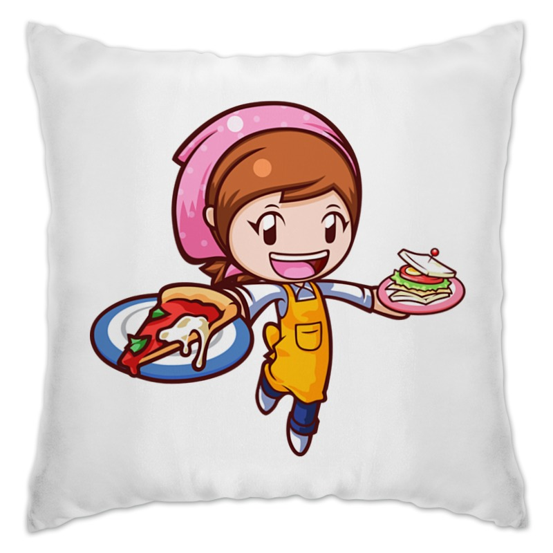 Подушка Printio Cooking mama цены онлайн