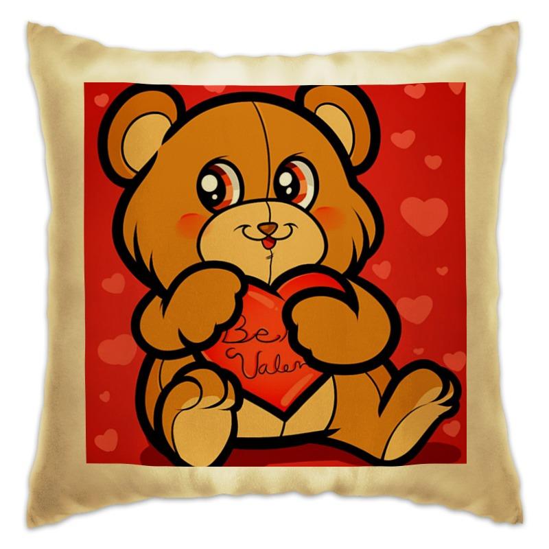 Подушка Printio С любовью сумка printio делай с любовью