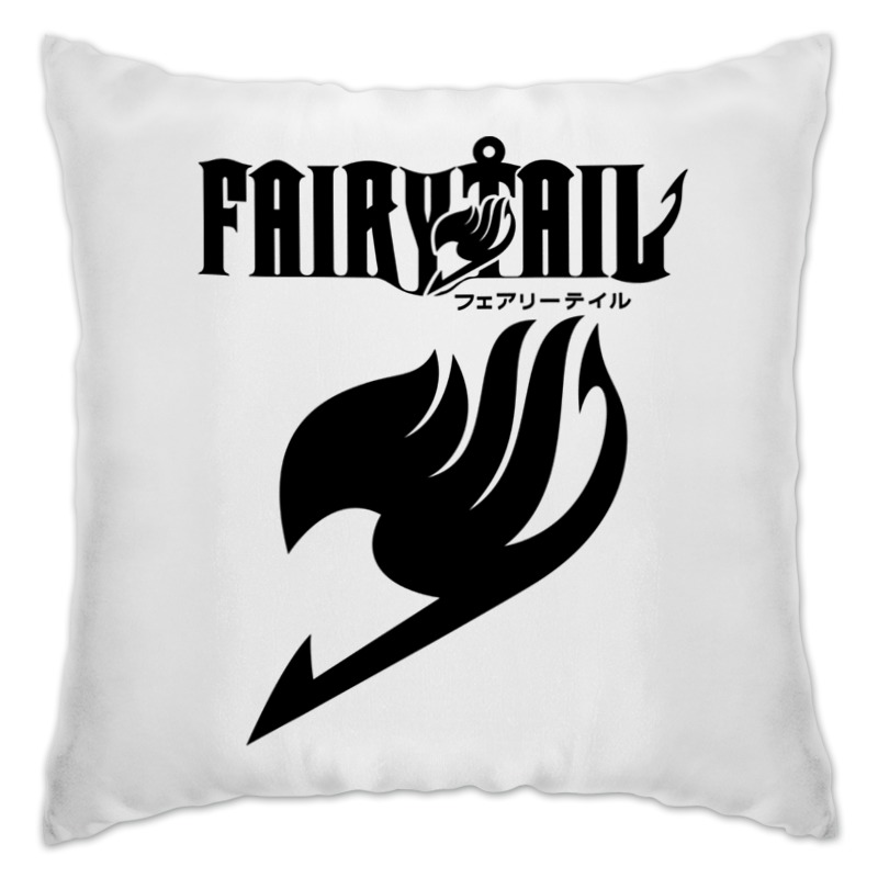 Подушка Printio Fairy tail ( хвост феи ) хвост песца wapsi arctic fox tail