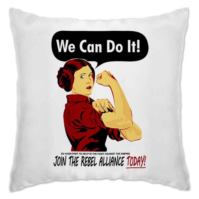 Подушка Printio Звёздные войны. we can do it!
