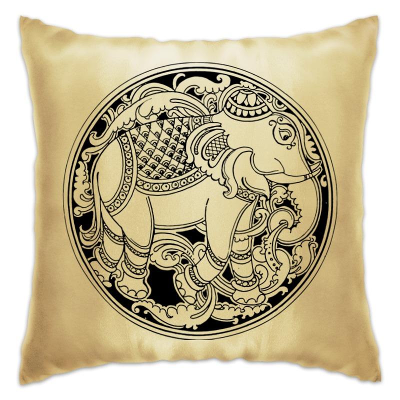 Подушка Printio Индийский слон
