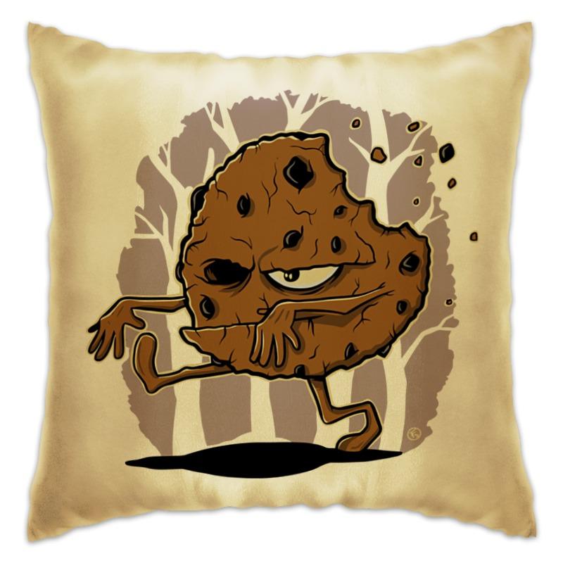 Подушка Printio Печенье-зомби печенье glico pocky midi 12