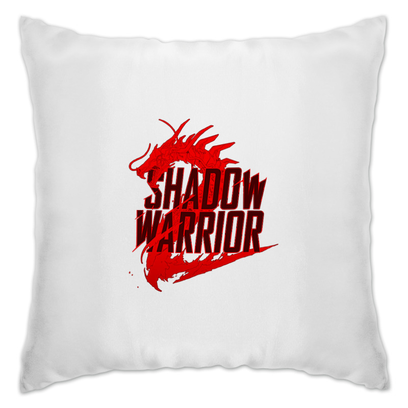 Подушка Printio Shadow warrior shadowwarrior[xboxone]