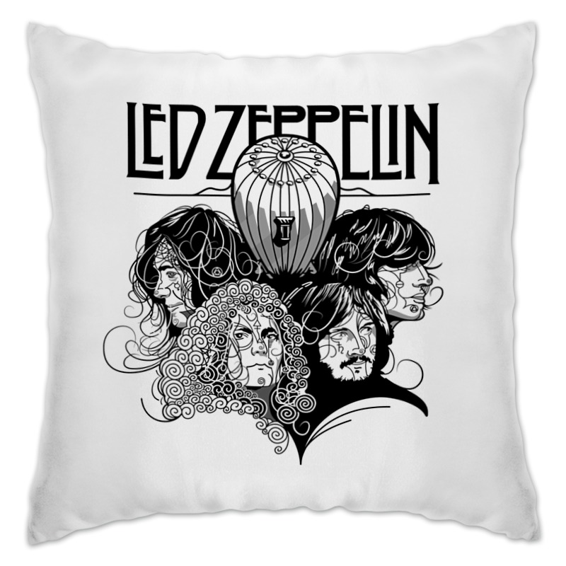 Подушка Printio Led zeppelin