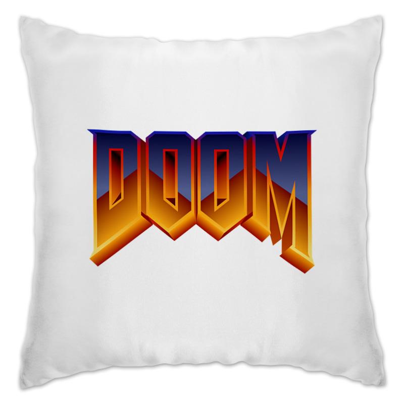 Подушка Printio Doom игра цены