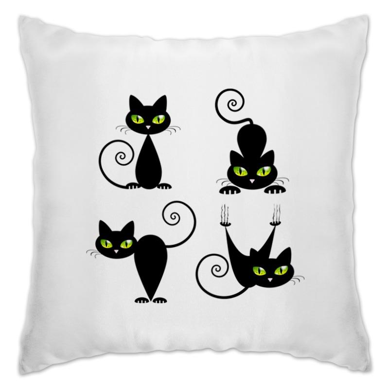 Подушка Printio Кошки 7 для кошки