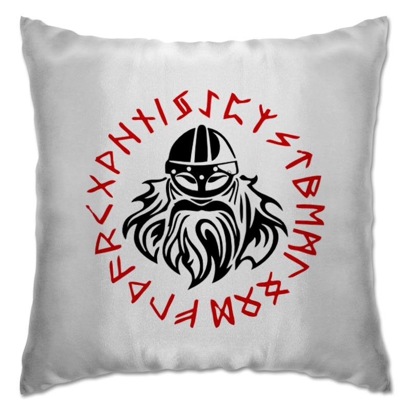 Подушка Printio Путь воина. викинги