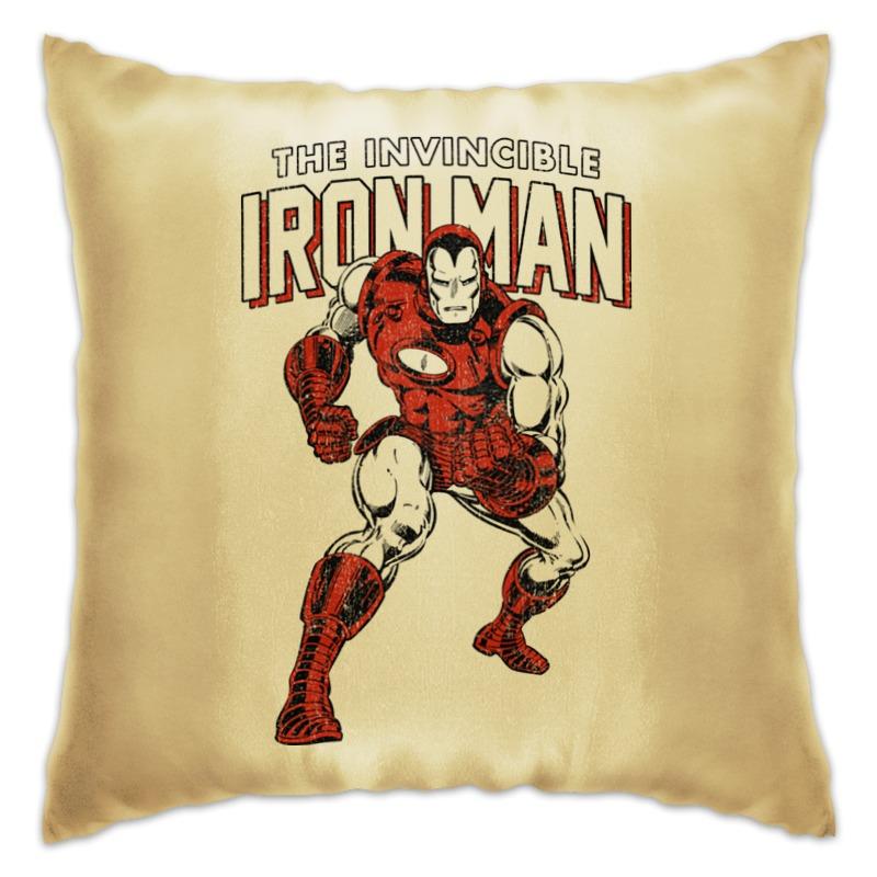 Подушка Printio Железный человек железный человек 2