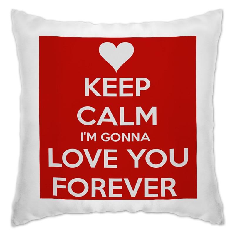 Подушка Printio Keep calm футболка wearcraft premium printio keep calm