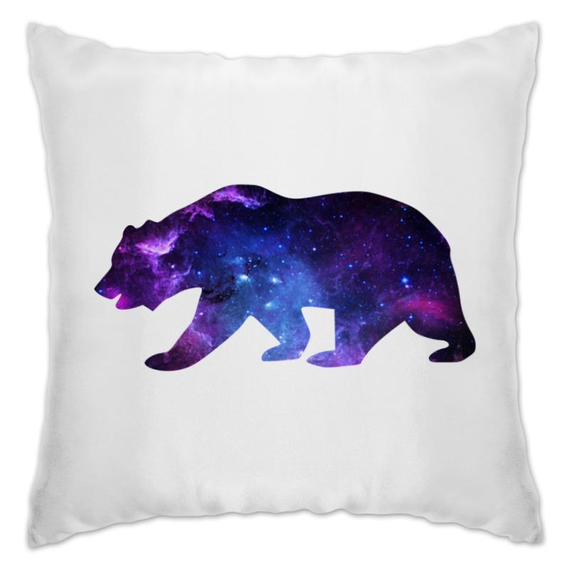 Подушка Printio Space animals (двухсторонняя печать)