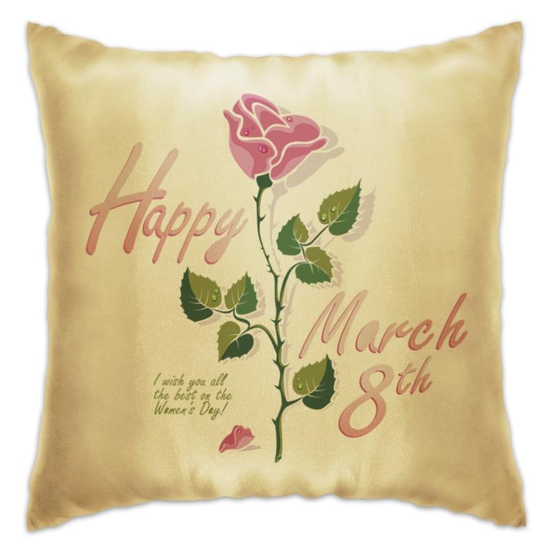 Подушка Printio 8 марта