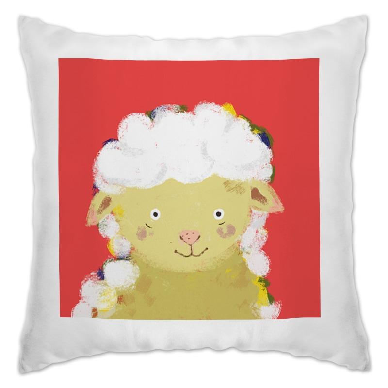 Подушка Printio Обнимашки с овечкой подушка printio ландыши