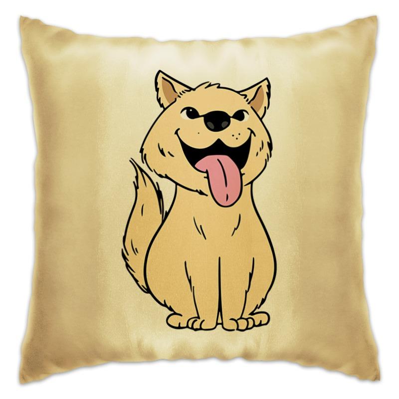 Подушка Printio Собачка подушка игрушка собачка holty подушка игрушка собачка