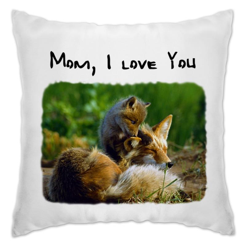 Подушка Printio Мама, я люблю тебя лонгслив printio я мама