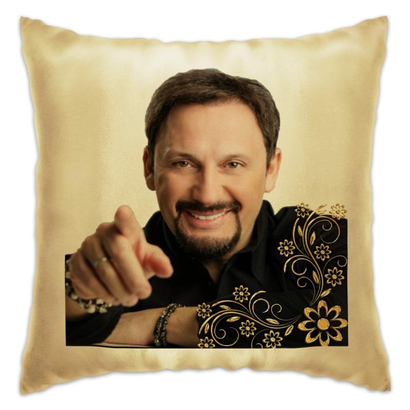 Подушка Printio Стас михайлов. в золоте. очень красивый!