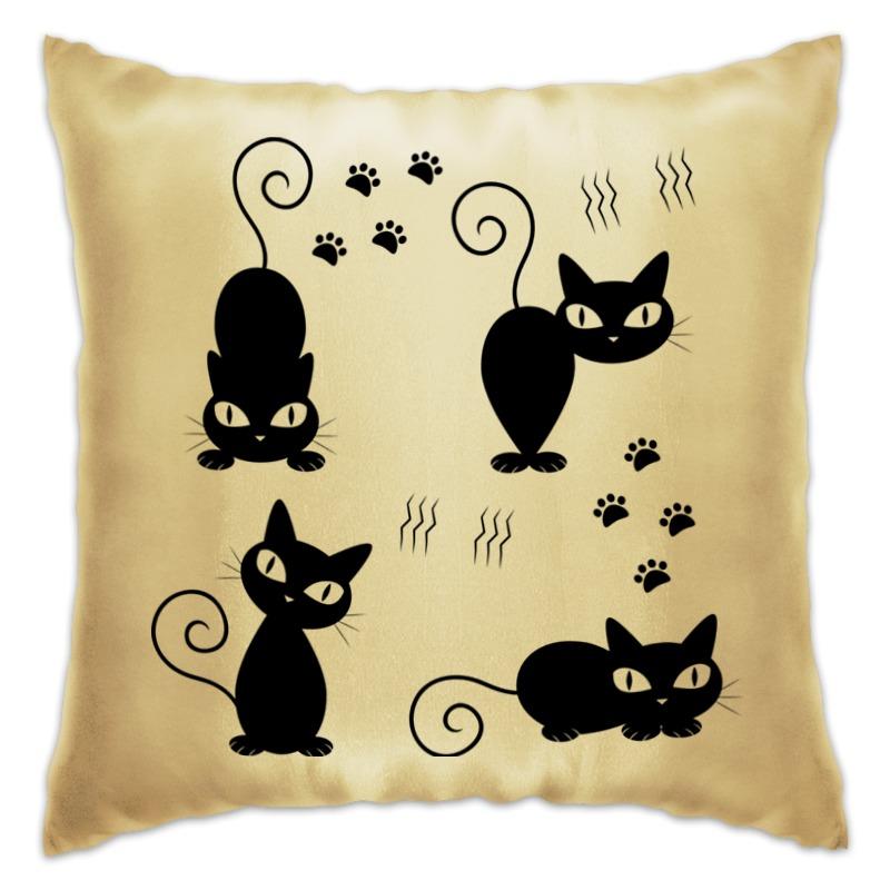 Подушка Printio Котята полуперсидские котята в москве