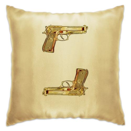 "Подушка ""The Golden Guns"" - пистолет, gun, guns, the golden guns, пистолеты"