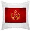 """Подушка """"Серп и молот"""" - ссср, россия, символика, серп и молот"""