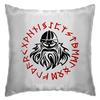 "Подушка ""Путь воина. Викинги"" - свобода, предки, викинги, путь воина, мифология викингов"