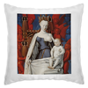"""Подушка """"Дева Мария (Маленский диптих)"""" - картина, живопись, христианство, фуке"""