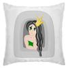 """Подушка """"Грустная принцесса"""" - девушка, красота, женщина, принцесса, брюнетка"""