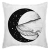 """Подушка """"кит в космосе"""" - space, космос, кит, moon, whale"""