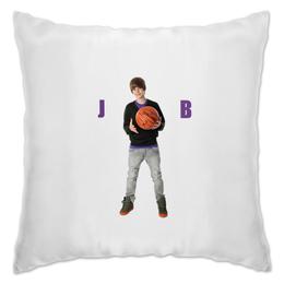 """Подушка """"Justin Bieber"""" - музыка, джастин бибер"""