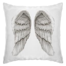 """Подушка """"Отдохни на крыльях ангела"""" - ангел, крылья ангела, ангельские крылья"""