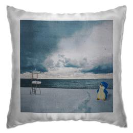 """Подушка """"Пингвинёнок Лоло"""" - арт, ссср, россия, арктика, пингин"""