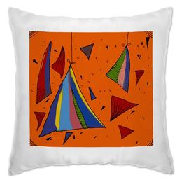 """Подушка """"Triangles"""" - арт"""