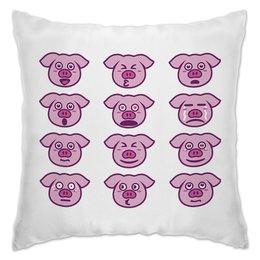 """Подушка """"Свинья"""" - новый год, 2019, поросёнок, свин, год свиньи"""