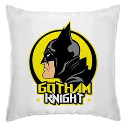 "Подушка ""Gotham Knight"" - комиксы, batman, кино, бэтмен, готэм"