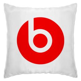 "Подушка ""beats"" - beatbox, beats, бит, dr dre, битс, биты"
