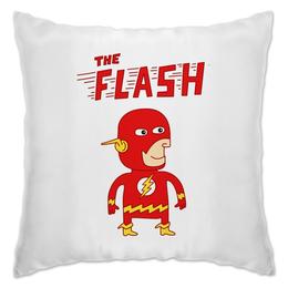 """Подушка """"Флэш """" - flash, прикольные, комиксы, супергерои, флэш"""