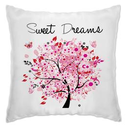 """Подушка """"Сладкие грезы"""" - сон, дерево, грезы"""