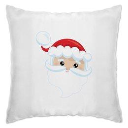 """Подушка """"Санта"""" - новый год, зима, дед мороз, санта, шапка"""