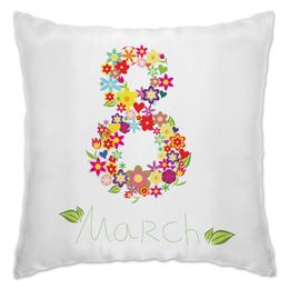 """Подушка """"8 Марта"""" - праздник, 8 марта"""
