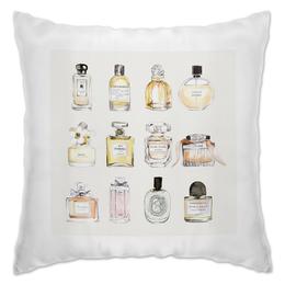 "Подушка ""Perfume "" - мода, духи, fashion, perfume"