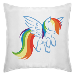 "Подушка ""Rainbow Dash soft"" - pony, rainbow dash, mlp, пони, рэйнбоу дэш"
