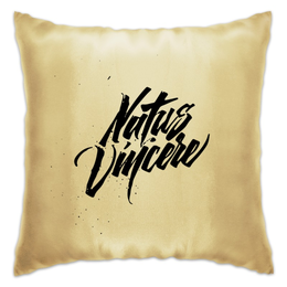 "Подушка ""Natus Vincere (Na'Vi) – Calligraphy"" - игры, game, рисунок, иллюстрация, картинка, dota, dota 2, navi, natus vincere, дота"