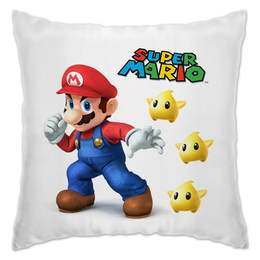 """Подушка """"Super Mario"""" - арт, mario, марио"""