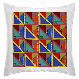 """Подушка """"Triangles2"""" - арт"""