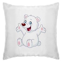"""Подушка """"Белый медведь"""" - животные, медведь, мишка, мульт, белый медведь"""