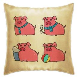 """Подушка """"Свинья"""" - новый год, свиньи, 2019, свин, год свиньи"""